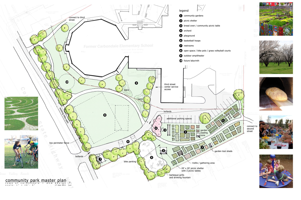 11x17 Park Master Plan