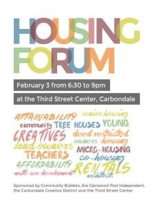 Housing Forum @ The Gym
