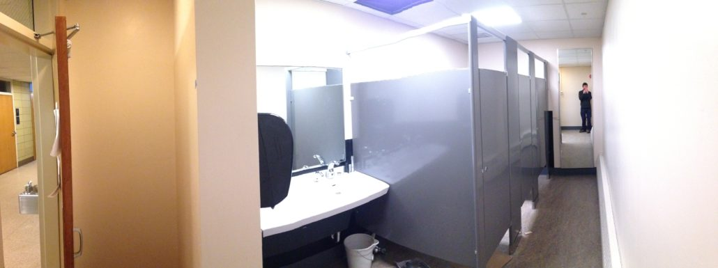 Women S Restroom Renovation Complete