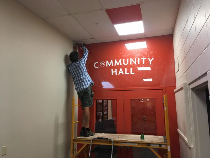 Hello Community Hall